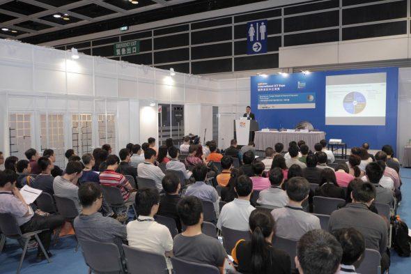 Unwire Pro 在 ICT Expo 上舉行兩場研討會,合共吸引過百人出席。