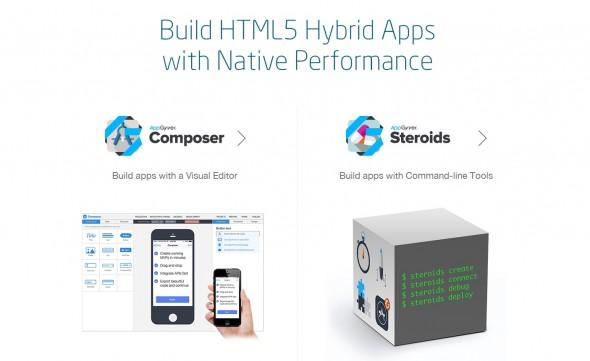 Composer 為一個支援以 drag-and-drop 建立 HTML5 apps 的軟件