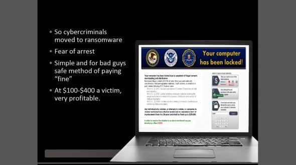 黑客會假扮 FBI 來勒索,企業不虞有詐就會中招。