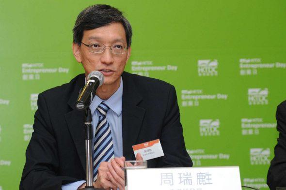 香港貿發局製造業拓展總監周瑞(鹿生)表示,創業者每一步都有不同考慮,需要不同的支援。