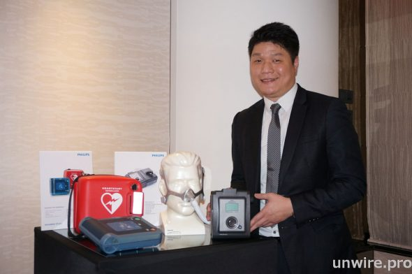 飛利浦醫療保健業務部高級經理潘偉曦,分享了他對現今醫療設備市場發展的看法。