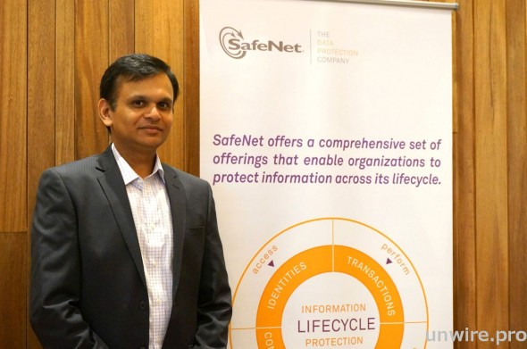 SafeNet 亞太區副總裁 Rana Gupta 表示,機構即使有使用加密,但如金鑰管理不善,其實亦等同虛設。