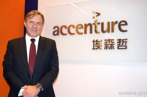 Accenture 亞太區戰略咨詢董事總經理 Jouni Hakanen 表示,善用 IT 是商業機構增加競爭力的最佳方法。