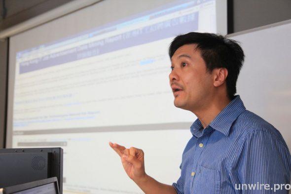 黃俊彦坦承,要做 Big Data 分析之前,先要確保自己知道在哪兒找到需要的數據。