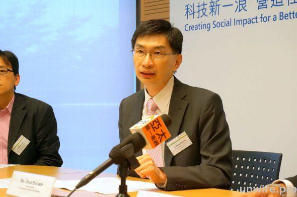 香港社會服務聯會行政總裁蔡海偉表示,很多社福機構都只停留在把 IT 視為內部運作的管理工具,未有將 IT 用於服務對象之上。