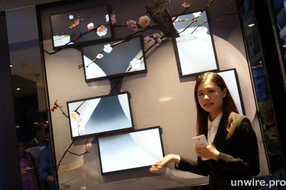 可作靈活排列的 Samsung DB22D SMART Sigange 可把動態及靜態的影像結合,零售商可把藝術及創意融入市場推廣訊息,創造更令人印像深刻的品牌形象。