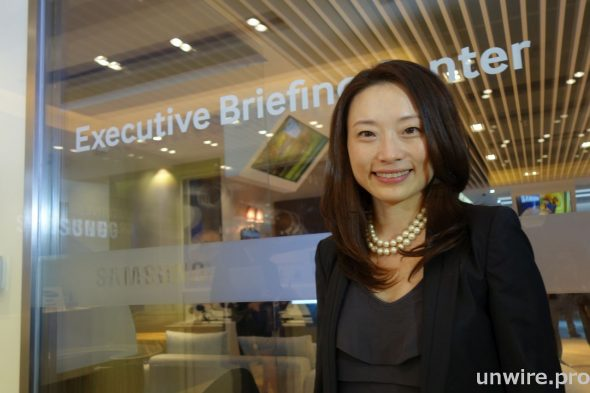 Samsung 香港企業產品業務總監傅梅表示,香港是 Samsung 在全球三個開設 EBC 的城市之一,期望提高商務市場對 Samsung 的認識。