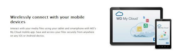 My Passport Wireless cloud