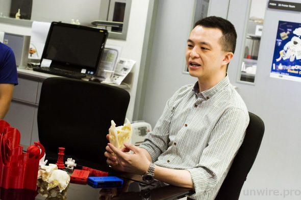 城大高級教育發展主任趙必豪博士指出,GE Lab 為精進課程的學生提供接觸 3D 打印的機會,任何學生都能申請使用。