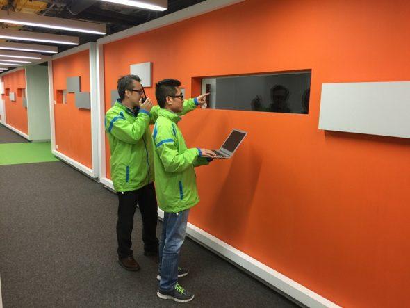 TGT TKO Data Centre 1F Corridor