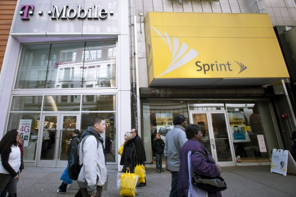 Sprint plans to acquire T-Mobile for 2 billion