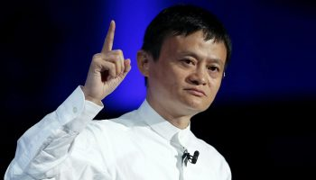 SoftBank CEO Masayoshi Son And Alibaba Chairman Jack Ma Attend SoftBank World 2014