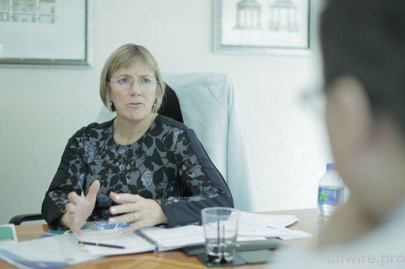 愛爾蘭貿易及科技發展局行政總裁 Julie Sinnamon