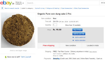 cow-dung-india-ebay