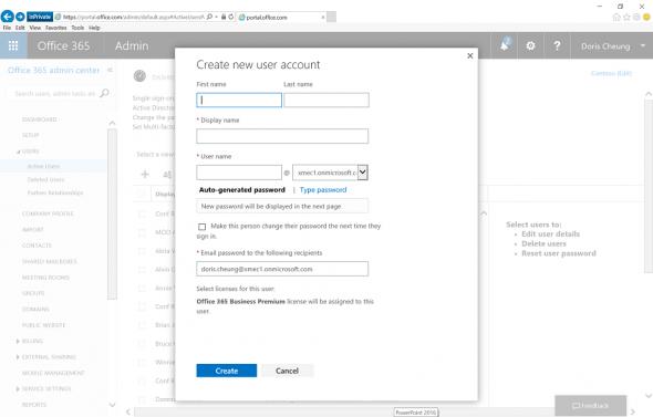 o365-admin portal-add users