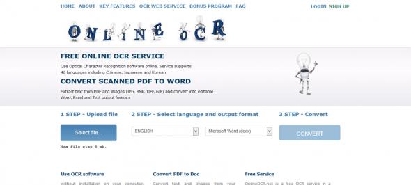 online-ocr-homepage