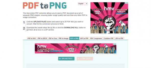 online-pdf-converter-homepage