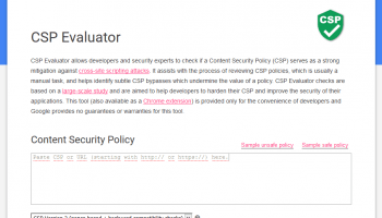 google-csp-evaluator