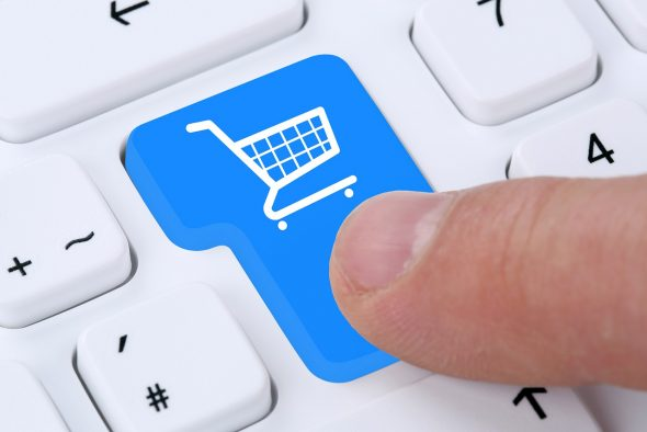Online Shopping Buying Order Internet Shop Concept
