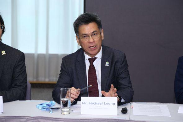 香港電腦學會主席梁建文先生表示,香港電腦學會進行「互聯經濟及智慧城市時代下的機遇及影響」問卷調查,旨在了解「互聯經濟」為香港所帶來的機遇。