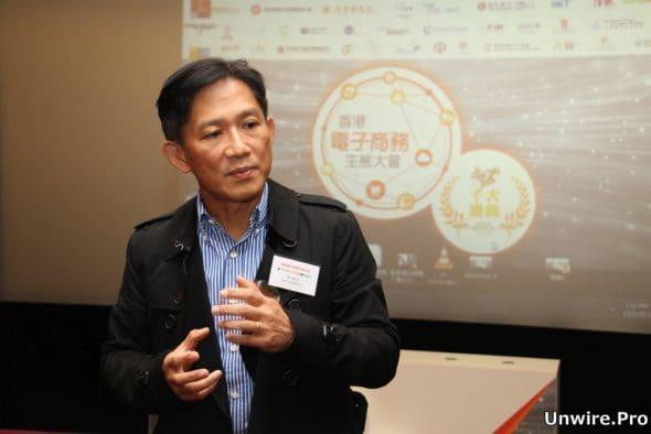 阿里 B2B 台灣暨香港業務總經理傅紀清表示本地電商發展會是未來一大趨勢。