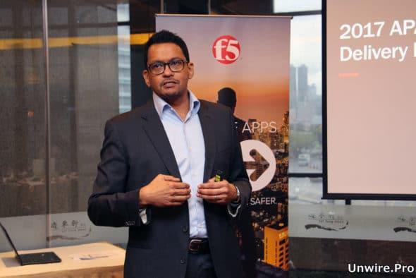 F5 Networks 亞太區首席技術總監 Mohan Veloo