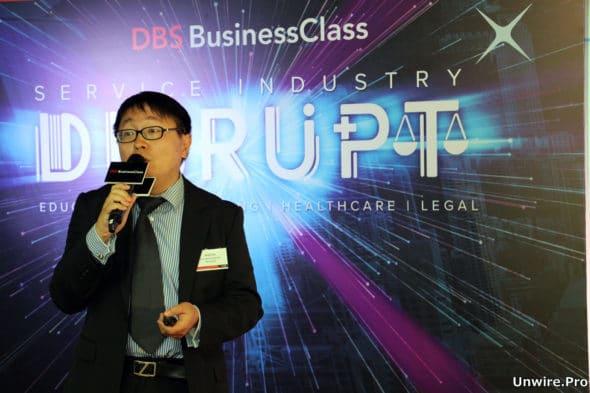 香港電訊商業客戶產品及市務高級經理葉安迪