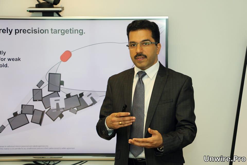 Verizon Enterprise Solutions 亞太區調查及反應管理總裁 Ashish Thapar