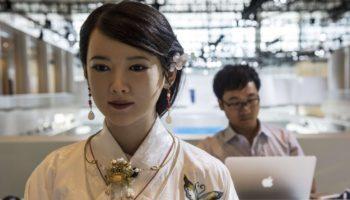 Chinese Robot Jiajia