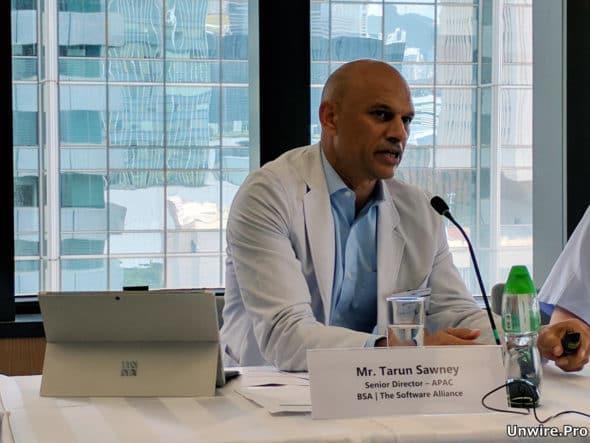 商業軟件聯盟亞太區市場合規高級總監 Tarun Sawney