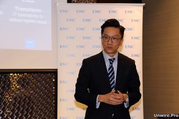 EMC 香港、澳門區系統工程總監羅偉文