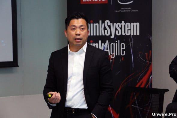Lenovo 香港、台灣及韓國區數據中心總監梁俊釗