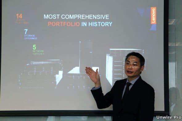 Lenovo 企業事業部產品經理陳耀雄