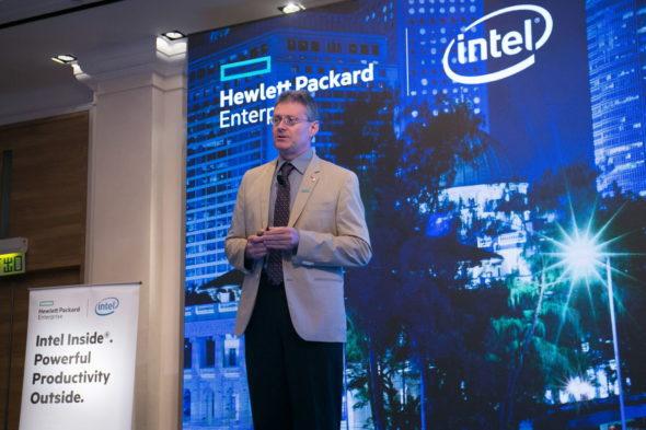 HPE 亞太區數據中心及混合雲首席技術官 Paul Haverfiel
