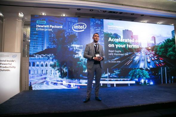 HPE Pointnext 香港及澳門總經理 Rajat Gupta