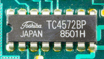 FeAp 92-1a – main PCB – Toshiba TC4572BP