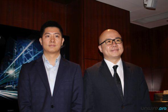 阿里雲大數據事業部高級專家朱金童(左)及阿里雲港澳台及韓國區域總經理劉彬星(右)
