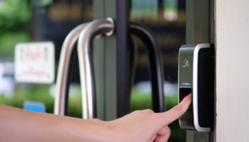 Biometric Fingerprint Scanner.