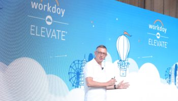 Rob Wells, President of Asia, Workday speaking at HK Elevate 2019